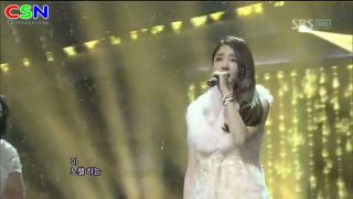 We Were In Love (010112 Sbs Inkigayo) - Davichi; T-Ara