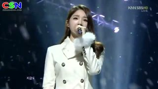 We Were In Love (290112 Sbs Inkigayo) - Davichi; T-Ara