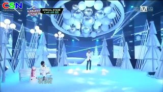 White Love (201212 M Countdown Christmas Special Stage) - K.Will; Soyou; Sistar; Jeongmin; Boyfriend