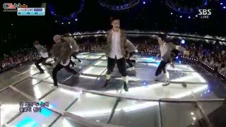 Growl (04.08.13 SBS Inkigayo) - EXO