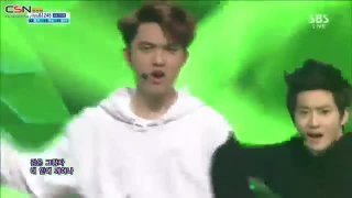Growl (01.09.13 SBS Inkigayo) - EXO
