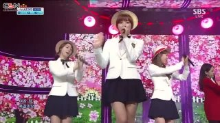 Can You Love Me (15.09.13 SBS Inkigayo) - 5Dolls; Dani; T-Ara N4
