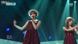 Can You Love Me (22.09.12 SBS Inkigayo) - 5Dolls; Dani; T-Ara N4