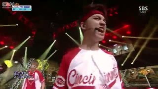 Growl (25.08.13 SBS Inkigayo) - EXO