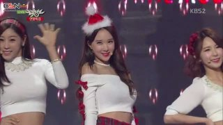 Santa Baby (Music Bank Christmas Special) - Nine Muses