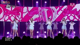 Because I'm Your Girl (06.03.14 M Countdown) - 1PS