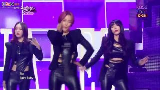 B.B.B (Big Baby Baby) (10.01.14 Music Bank) - Dalshabet